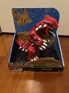 pokemon action figure takara tomy groudon mega battle nintendo - RARE NEW ruby