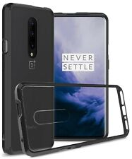 For OnePlus 7 Pro Case TPU Bumper Hybrid Slim Fit Hard Clear Back Phone Cover