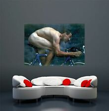 LANCE Armstrong SPORT CICLISMO TOUR FRANCE Gigante Poster Stampa z281
