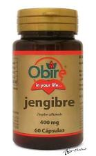 GINGER 400 MG.60 CAPSULES OBIRE / PROBLEMS DIGESTIVE - BLOATEDNESS - GAS OB4069