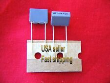 12pc  .001uf (0.001uf, 1000pf, 1nf) 400V radial metalized film poly capacitors