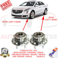 2 Front Or Rear Wheel Hub & Bearing Assembly For Cadillac CTS Terrain Equinox