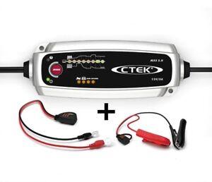 Chargeur batterie voiture / auto CTEK MXS 5.0 MXS5  12V 5A de 1.2-100ah