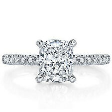 1.84ct EGL Cushion Diamond Vintage Engagement Ring D/SI1 (US902783912D)