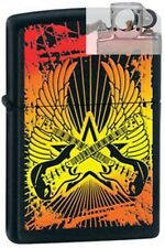 Zippo 24891 guitar wings black Lighter with PIPE INSERT PL