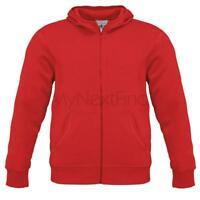 B&C Collection Mens Fashion Monster Hooded Full Zip Sweatshirt