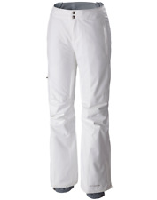 Columbia Womens White Veloca Vixen Pants 13901 Sz Small