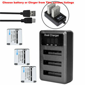 D-LI92 Battery / LCD Charger For Pentax Optio I-10 WG-1 WG-2 3 WG-10 RZ10 RZ18