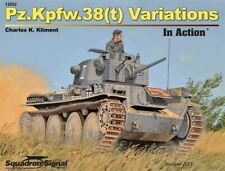 Pz.Kpfw.38(t) Variations In Action Squadron Signal 12052
