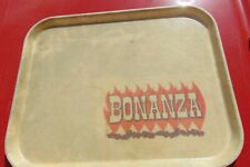 Bonanza Sirloin Pit Steakhouse Restaurant Serving Tray Advertising Made in USA