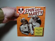 "Walt Disney's Mickey Mouse Club- Spin & Marty Triple ""R"" Song 45 RPM record"