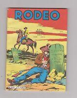 RODEO n°371. Juillet 1982.  Aventures de Tex. Etat neuf