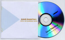 CAVE PAINTING You'll Be Running Soon EP 2011 UK 4-trk promo test CD
