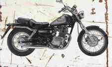 Honda CMX250 Rebel 1998 Aged Vintage Photo Print A4 Retro poster