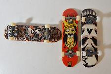 2 Tech Deck & 1 ??? Fingerboard / Skateboard Lot of 3 Used