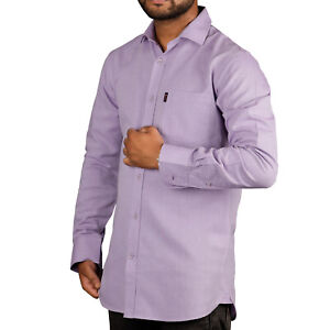 Long Sleeve Men's Casual Formal Shirt Long sleeve Cotton Formal  S - XL UK Shirt