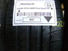 1x Sommerreifen MICHELIN 225/40 R18 88W Pilot Sport ZP DOT14 - 7mm