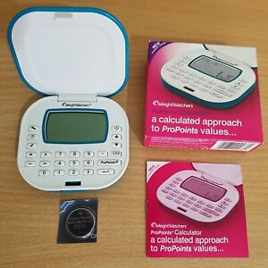 Weight Watchers ProPoints Plan Calculator Complete with Manual & Battery