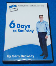 6 Days To Saturday by Sam Crowley Audio CDs (6 CD Set), Complete & Tested