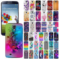 For Samsung Galaxy S4 I9500 I9505 I337 Design Protector Hard Back Case Cover