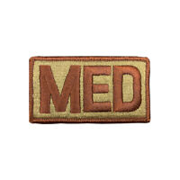US Air Force Medical MED OCP Spice Brown Brassard With Hook (ea)
