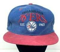 Philadelphia 76ers Youth Snapback Hat Distressed Fresh Cap Retro Logo Boys Girls