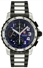 Swiss Army Alpnach Automatic Chronograph Stainless Steel Mens Watch 241194