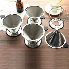 Pour Over Coffee Dripper Stainless Steel Filter Removable Dripper With StandFCA