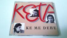 """KETAMA """"KE ME DEHE"""" CD SINGLE 3 TRACKS COMO NUEVO"""