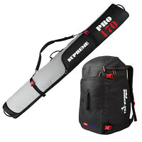 "Padded Ski Bag and Boot Bag Combo Select from 170cm (66-7/8"") or 190cm (74-3/4"")"