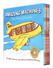 10 Book Boxed Set Machines Tony Mitton and ANT Parker Story CD