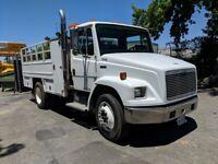 Freightliner FL60, CAT 3126 ENG -Utility Tire Service Truck - 185CFM Compressor