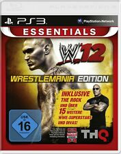 PS3/Sony Playstation 3-WWE '12 #Wrestlemania Edition [Essentials] with original box