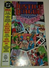 Justice League International Annual #3 Vf/Nm Dc Comics