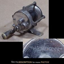 Antique 1910-20s Hendryx No 60 Casting Fishing Reel