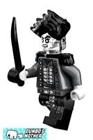 LEGO Henry Sword and Telescope Pirates of the Caribbean Silent Mary 71042 NEW