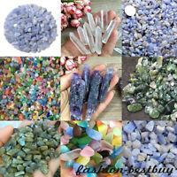 Natural Crystal Gravel Stone Quartz Rocks Home Fish Tank Aquarium Decor DIY