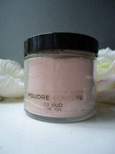 Rare CHANEL Poudre Lumiere 03 SUD Rose Scented Satin Powder 125g Huge Glass Jar