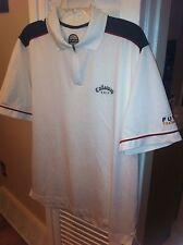 men's Callaway Golf Tour Authentic shirt White Fusion Technology X Series Golfer