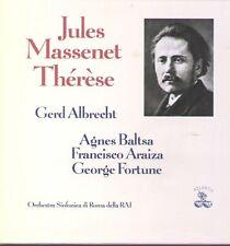 Massenet - Therese  Albrecht, Baltsa, Araiza, Fortune / 2 LP Box