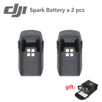 2PCS Original DJI Spark Drone Intelligent Flight Battery 1480mAh + Case Safe Bag