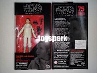 "In Stock * Hasbro STAR WARS Black Series 6"" inch #75 PRINCESS LEIA (HOTH) figure"