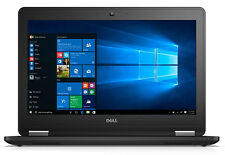 "Dell Latitude E7270 12.5"" 8gb Intel Core I7 I7-6600u 256gb SSD Win 7 Pro Laptop"