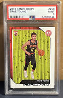 2018 Panini NBA Hoops #250 Trae Young PSA 9 Mint Rookie RC Atlanta Hawks 🔥
