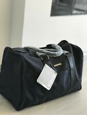 Genuine Michael Kors Mens Dark Blue Duffle Holdall Weekend Travel Bag New