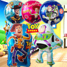Toy Story Party Latex Birthday Balloons Cupcake Toppers 4 supplies decoration