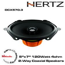 "HERTZ DCX570.3-dieci Series 5 ""X 7"" 5x7 2 VIE COASSIALI CAR AUDIO ALTOPARLANTI"