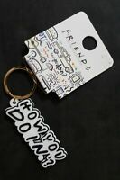 Friends Tv Series Central Perk How You Doin Key Chain Key Ring Christmas New