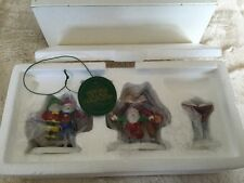 Dept 56 North Pole ~ Sing A Song For Santa ~ New In Box 56316 Handpainted