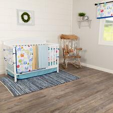 Nursery Crib Bedding Set 6pc Baby Boy Girl Bed Sheets Quilt Skirt Bumper Valance
